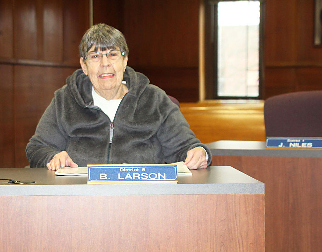 Larson proud to serve Juneau County board