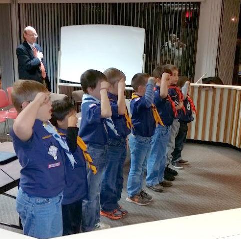 Cub Scouts quiz mayor, council   Government & Politics   wiscnews com
