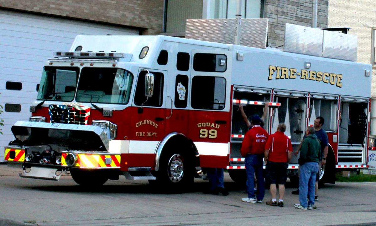 Columbus new rescue truck arrives