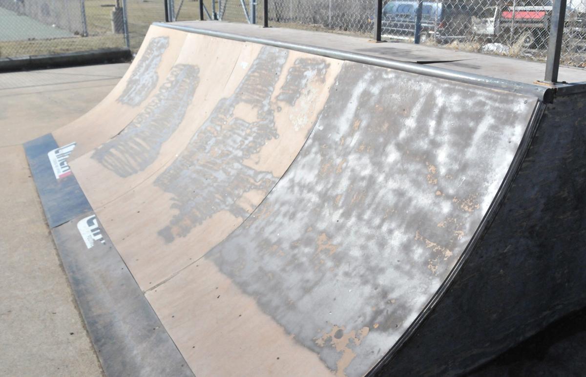 Baraboo skate park ramp