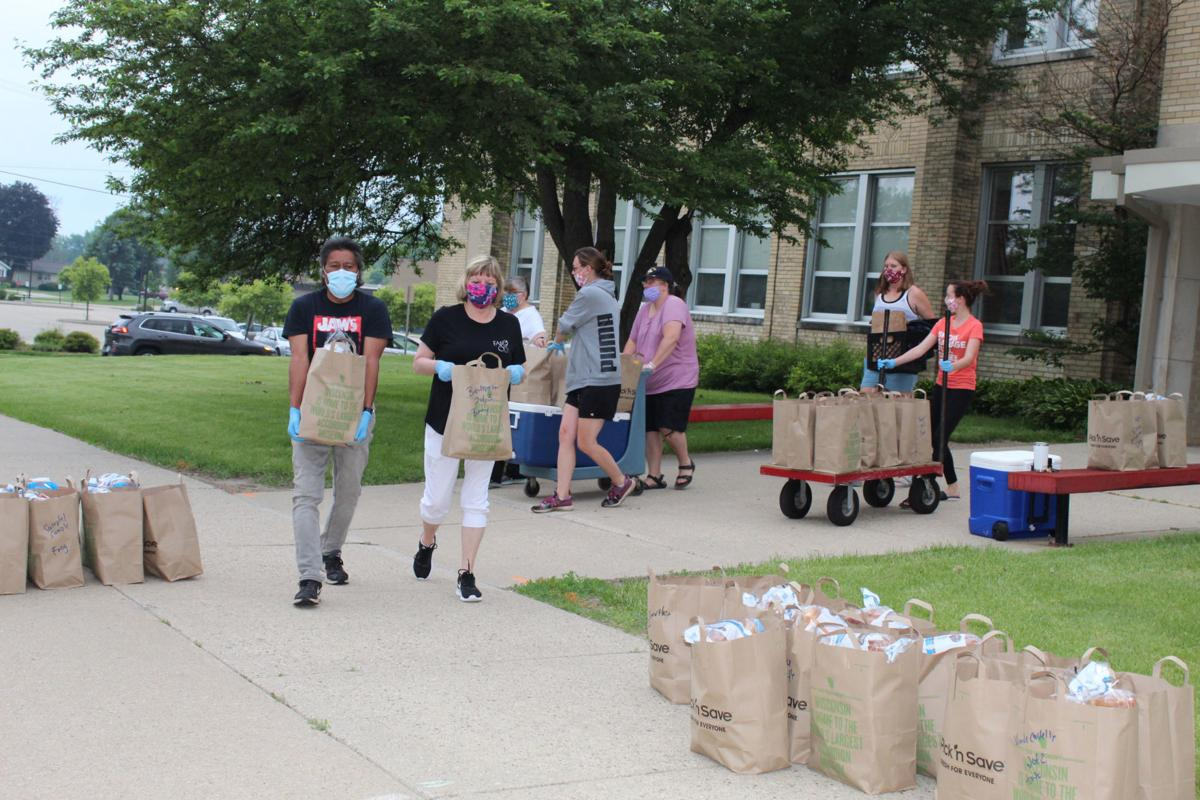 Columbus schools and Lamers Bus Line put in extra effort to feed area children