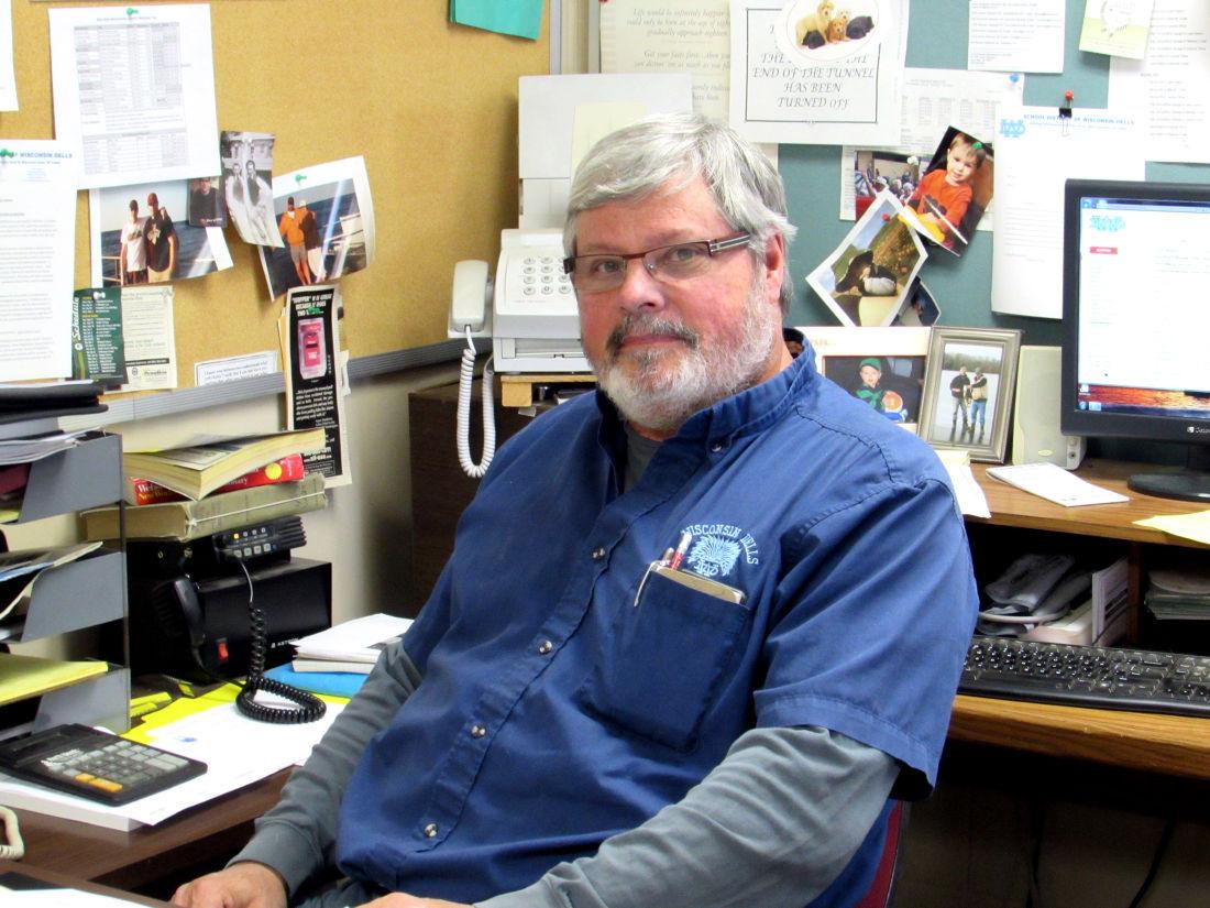 Retiring maintenance supervisor Facilities holding Dells School