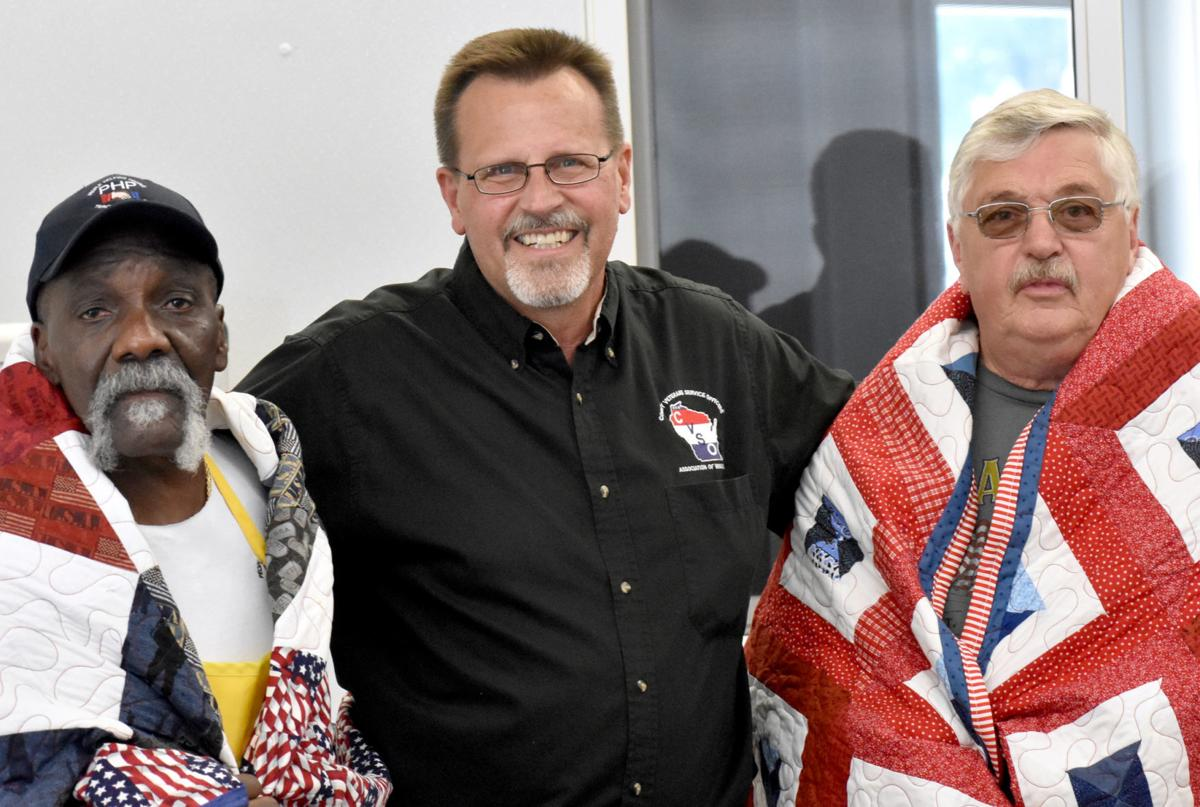 Bill Harris, Tony Tyczynski and Rod Werner