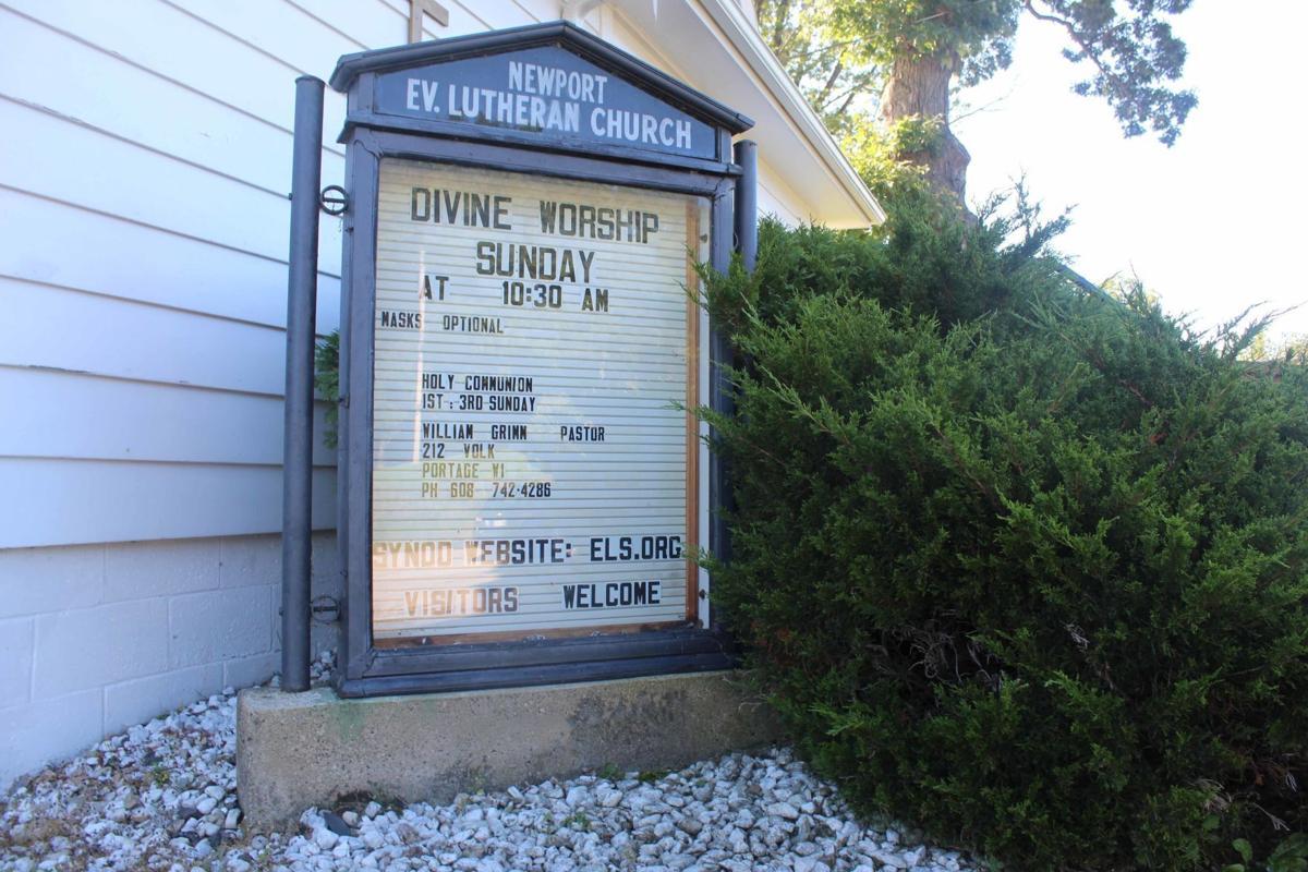 Newport Lutheran Church in Dells outside 2