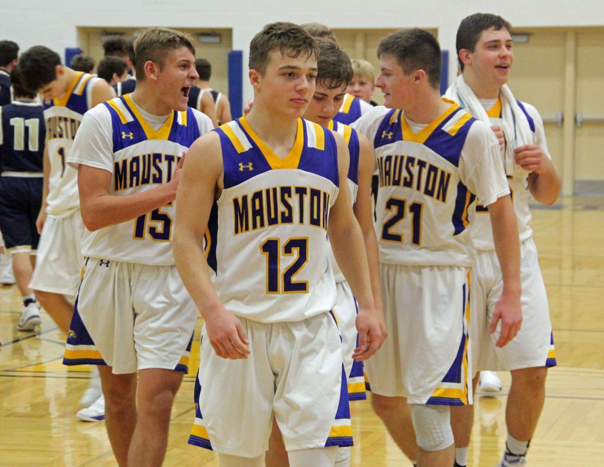 Mauston players celebrate