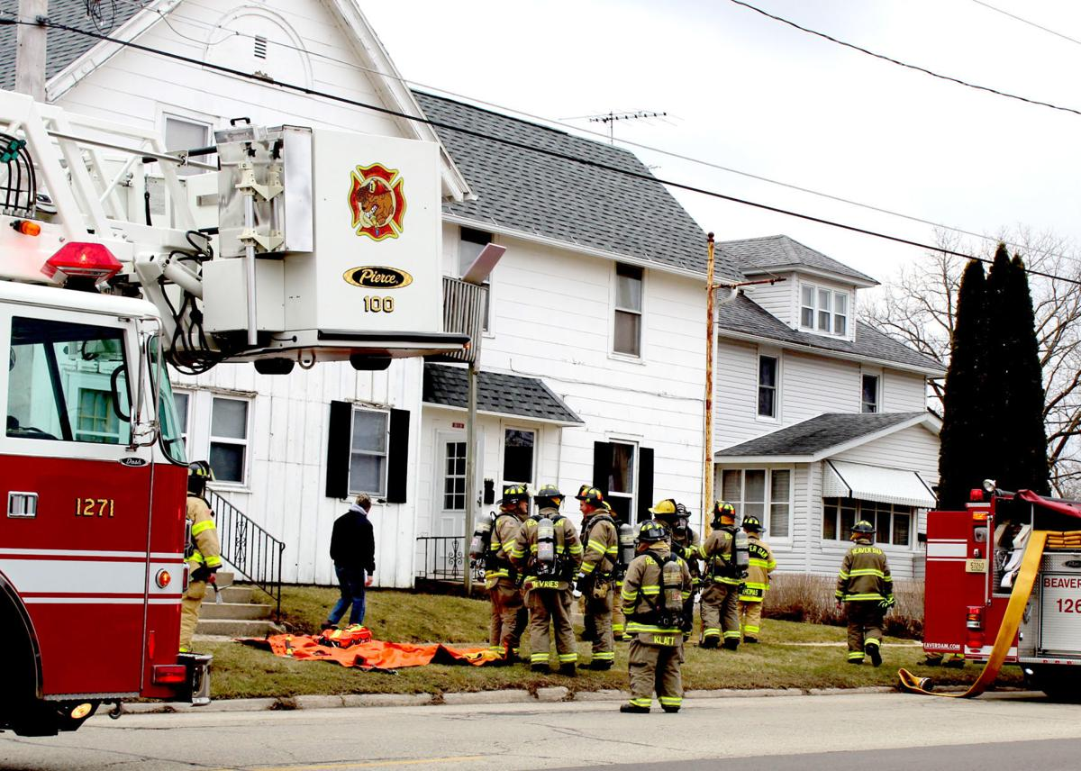 BDFD battles with fire on Madison Street