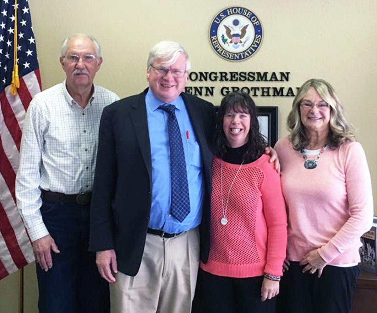 Kerzan family with Rep. Grothman