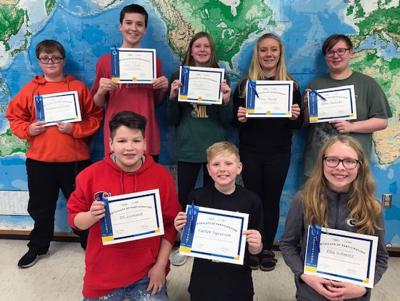 Wisconsin Dells School District competes in National Geographic Bee