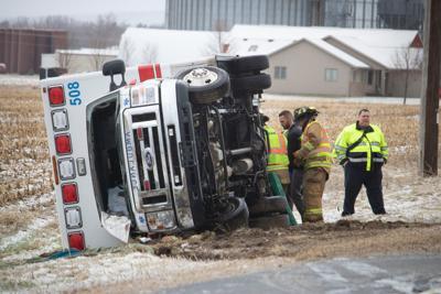 ambulance rollover