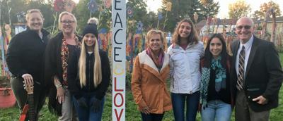 Merrimac Community Charter School dedicates Peace Pole project