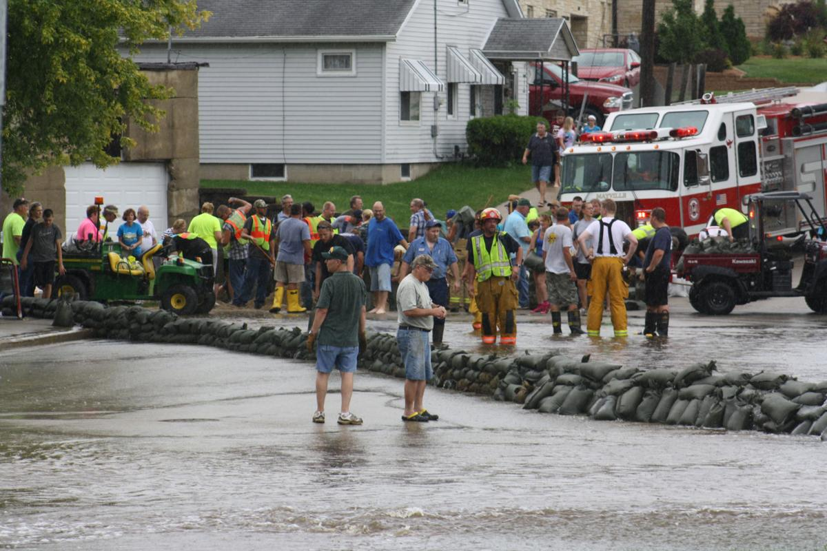 Mayville schools, streets reopen after flooding | Regional
