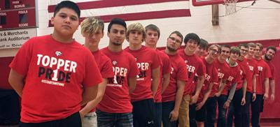 Topper Pride shirts