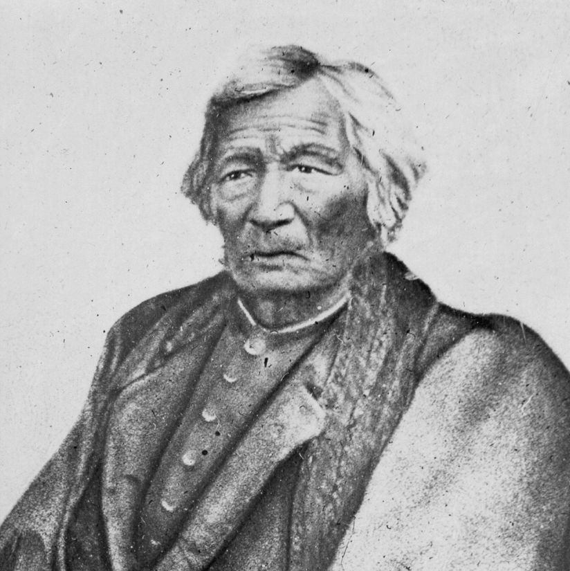 Chief Yellow Thunder, hosted the wedding of his wife's niece, Blue Wing.