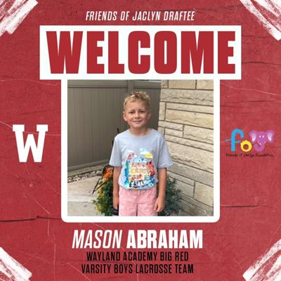 Mason Abraham Friends of Jaclyn Graphic