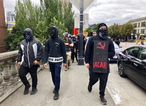 Portland 'ground zero' for protests between right, left-wing (copy)