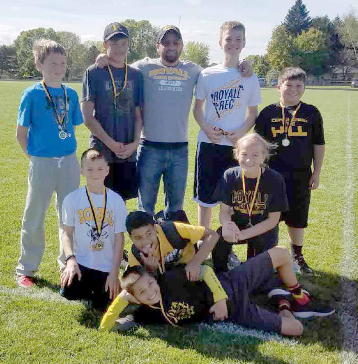 Royall sixth-grade flag football team
