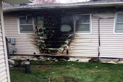 Lake Road house fire