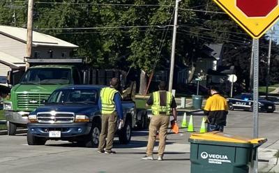 Burnett Street accident