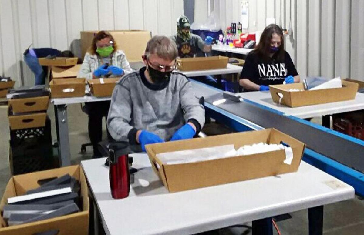 Reedsburg helps supply up to 30,000 face shields daily