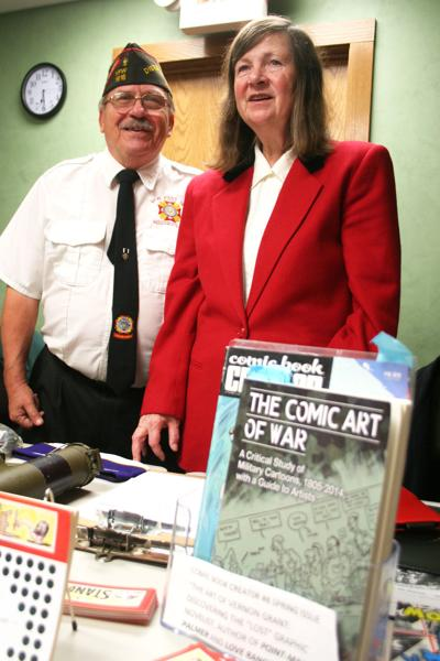 Betsy Grant and Warren Frank
