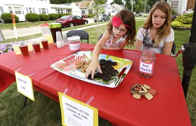 Waupun girl collects quarters to help people in Africa (copy)