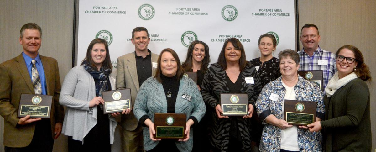 Portage Area Chamber of Commerce 2016 award winners