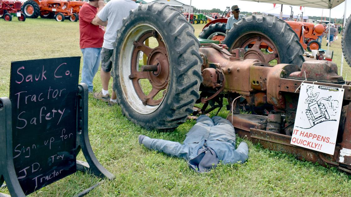 Farm Safety a part of Badger Steam & Gas Engine Show in Baraboo