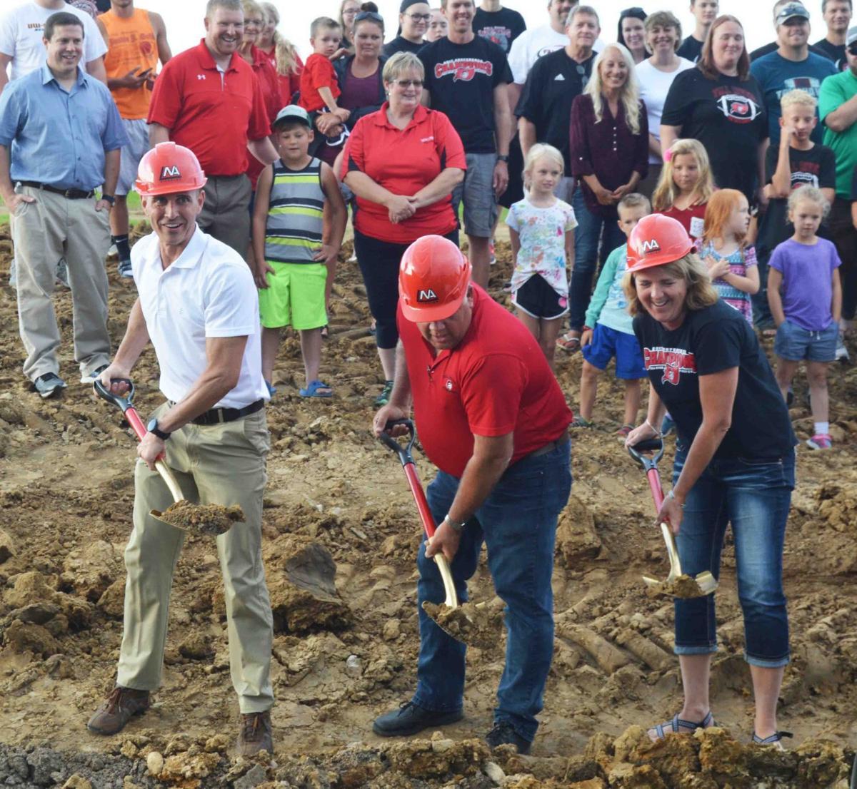 Fall River School District breaks ground on large Prairie Street