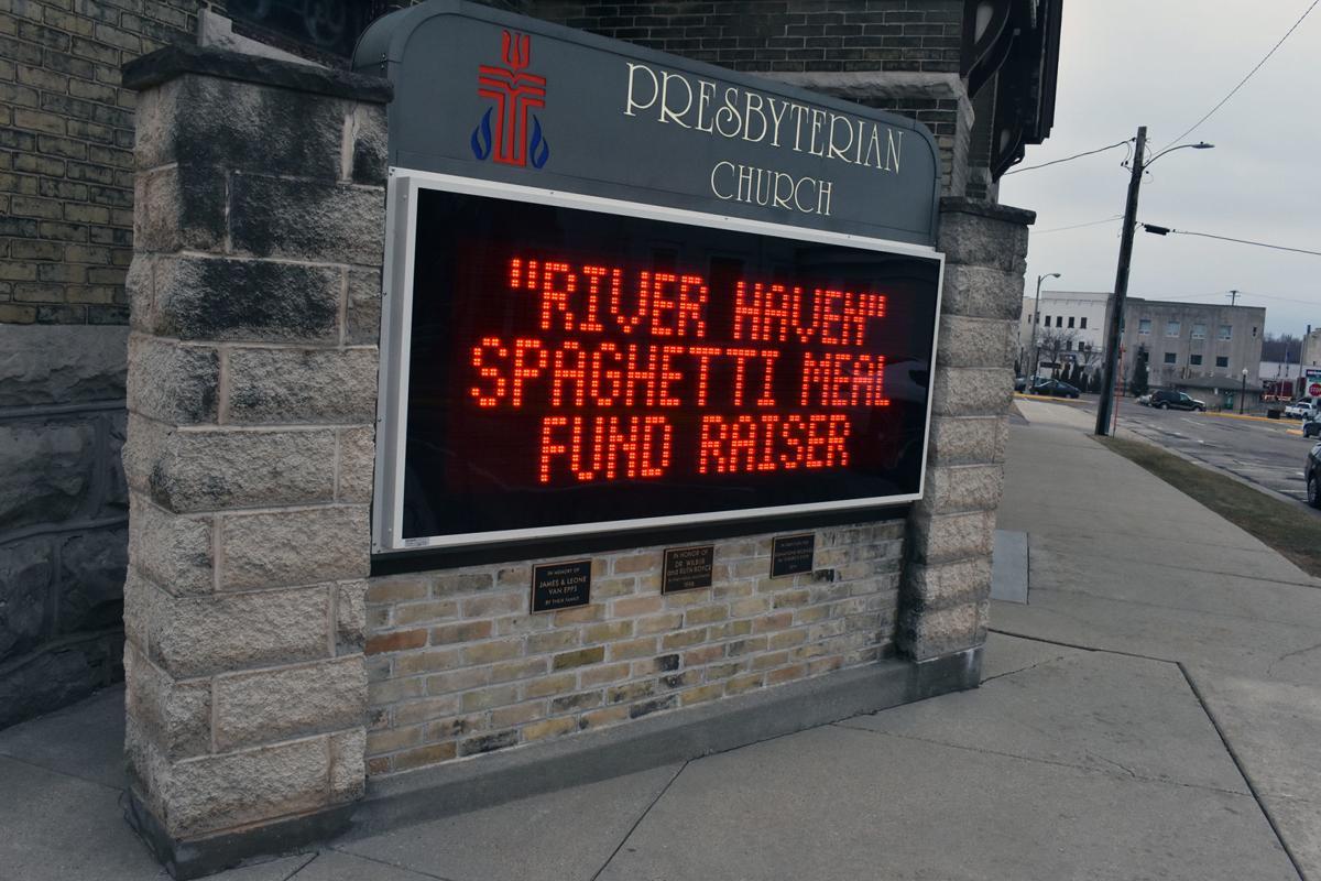 River Haven fundraiser sign