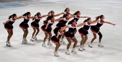 Skaters finish 8th at sectionals