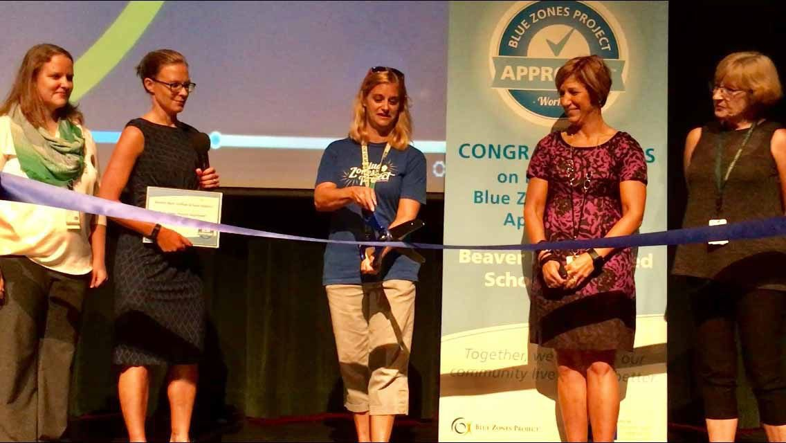 Beaver Dam Unified School District named Blue Zone's workplace