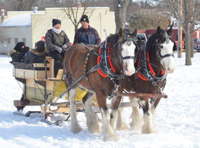 LOVELY WEATHER FOR A SLEIGH RIDE TOGETHER (copy)