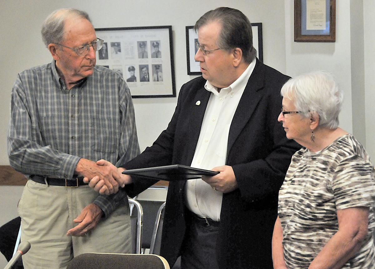 Ken Lange wins Baraboo Gem Award