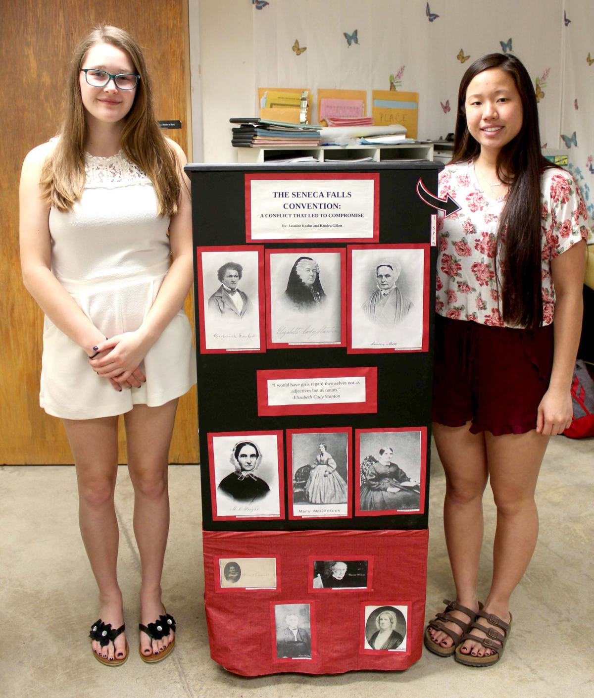 Trio of BDHS students head to Maryland for National History Day