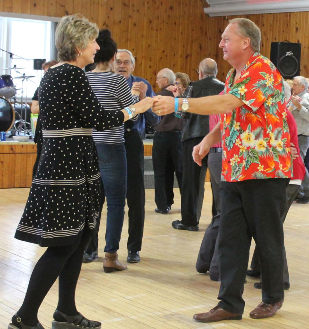 Mayville polka dance