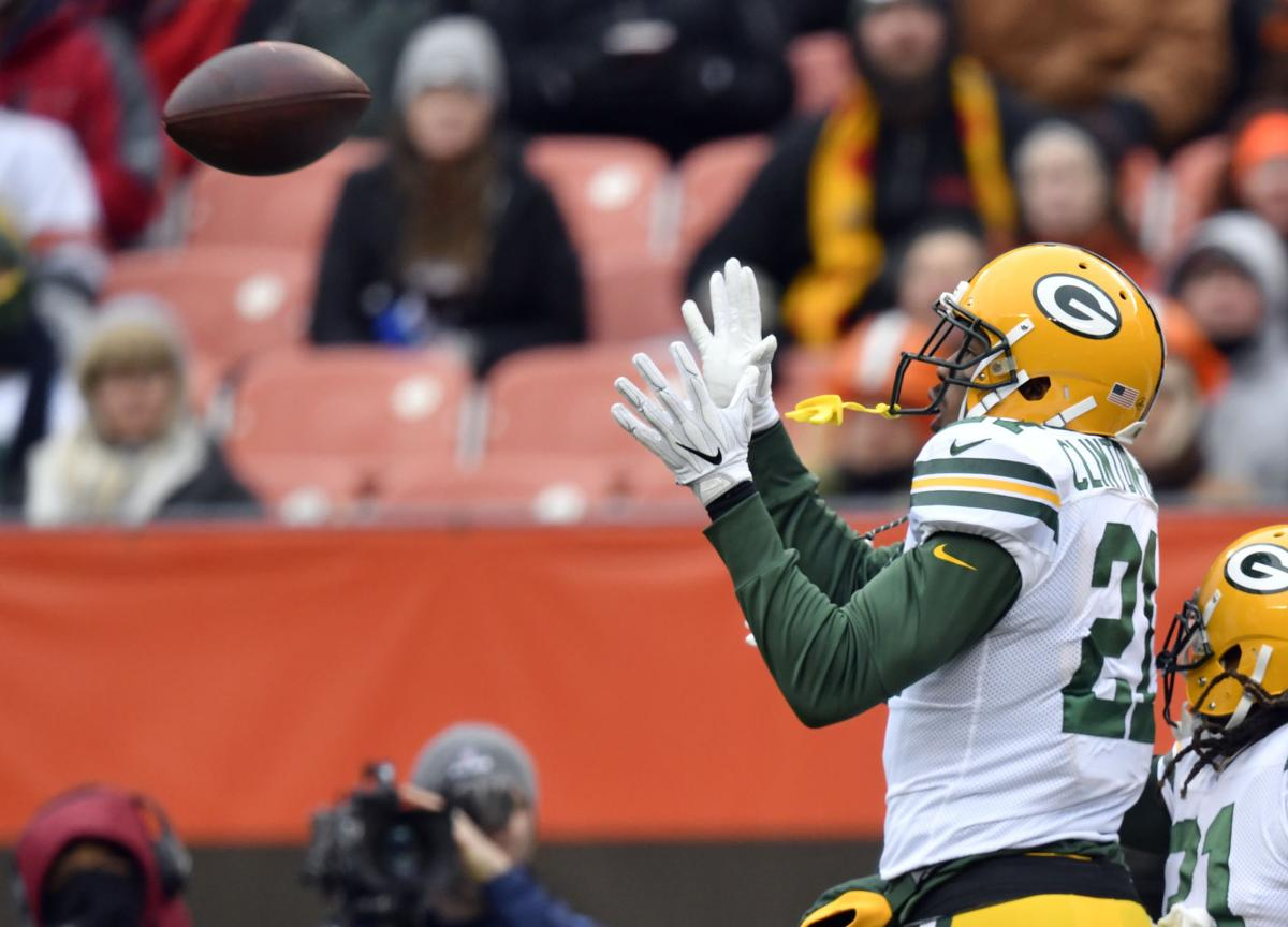 Ha Ha Clinton-Dix interception, AP photo
