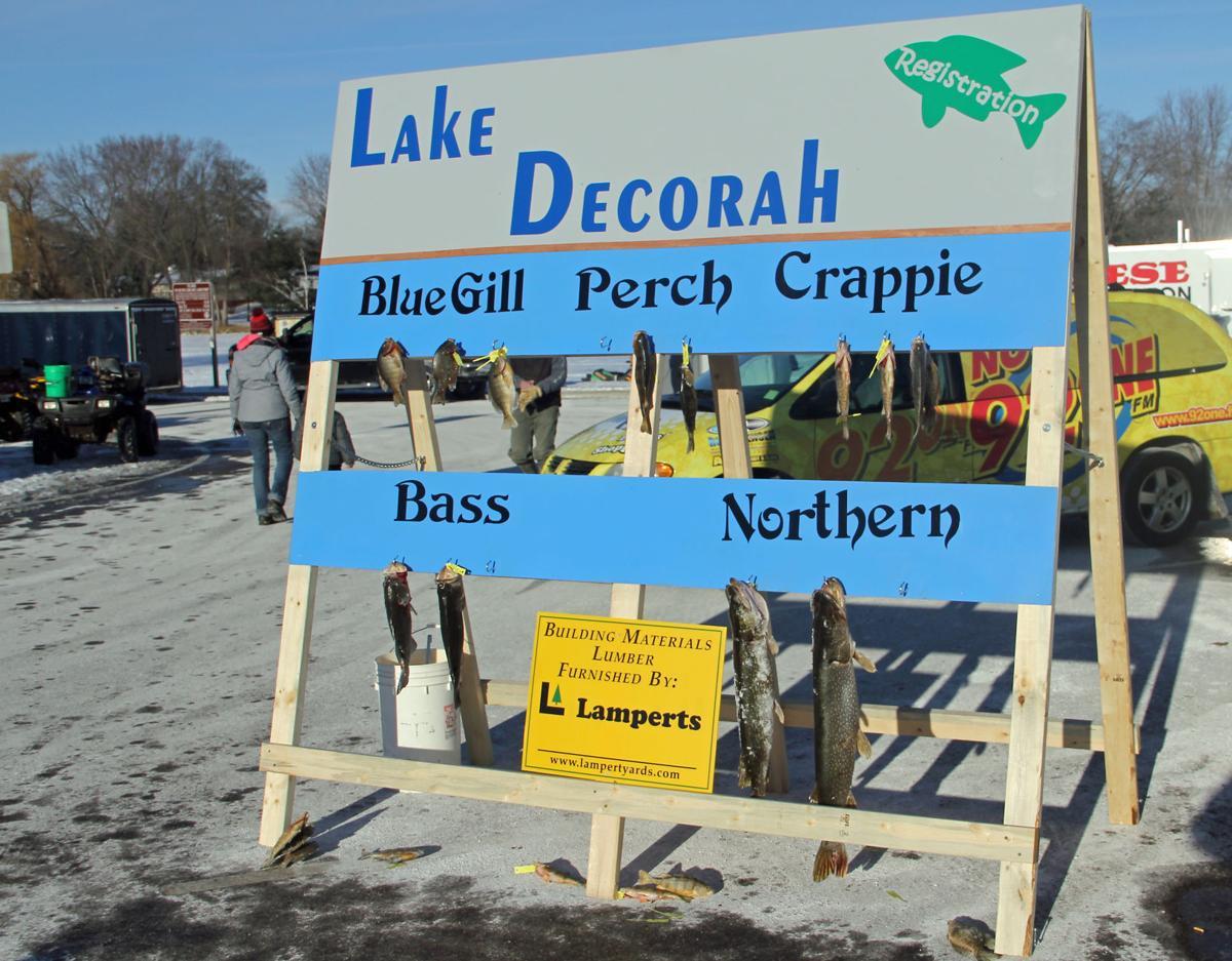 Lake Decorah Lake Restoration Ice Fishing Tournament