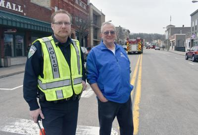 Scott Klicko and Lodi Mayor Jim Ness