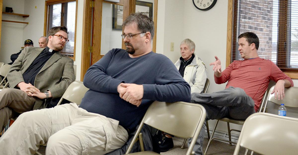 West Baraboo Village Board discussion