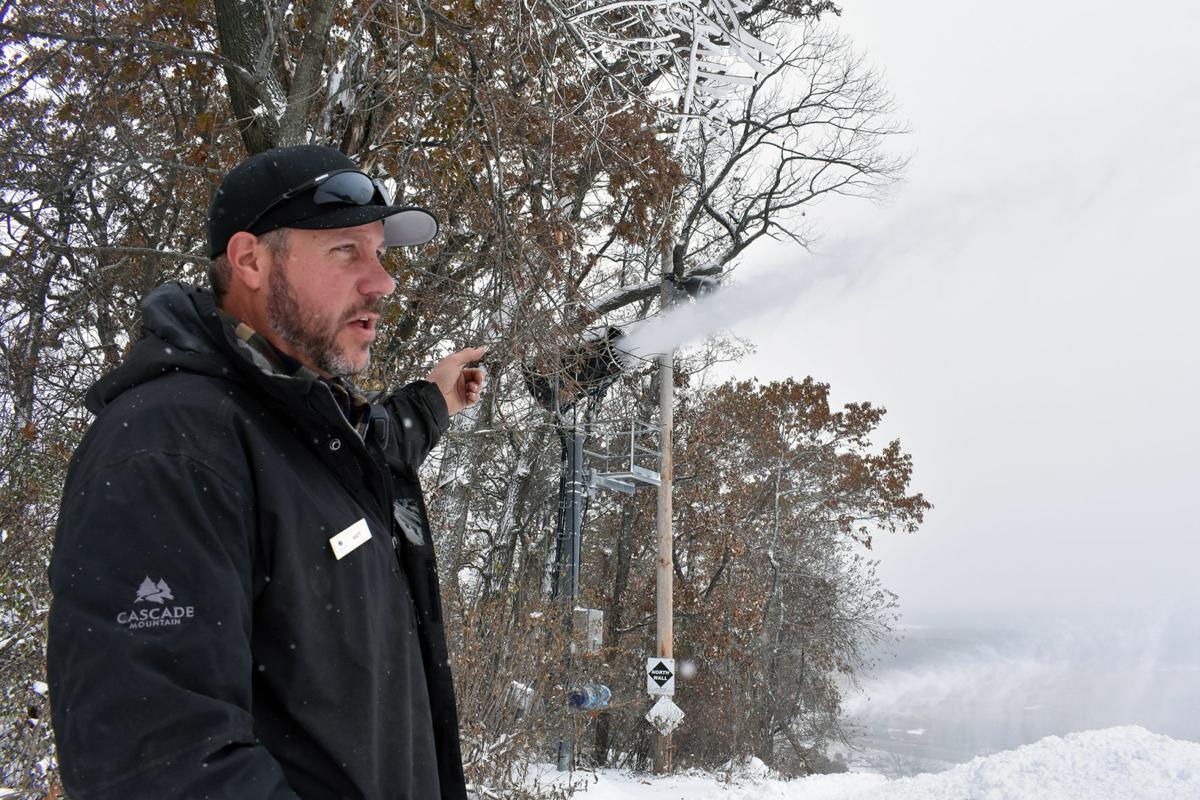 Cascade Mountain manager Matt Vohs