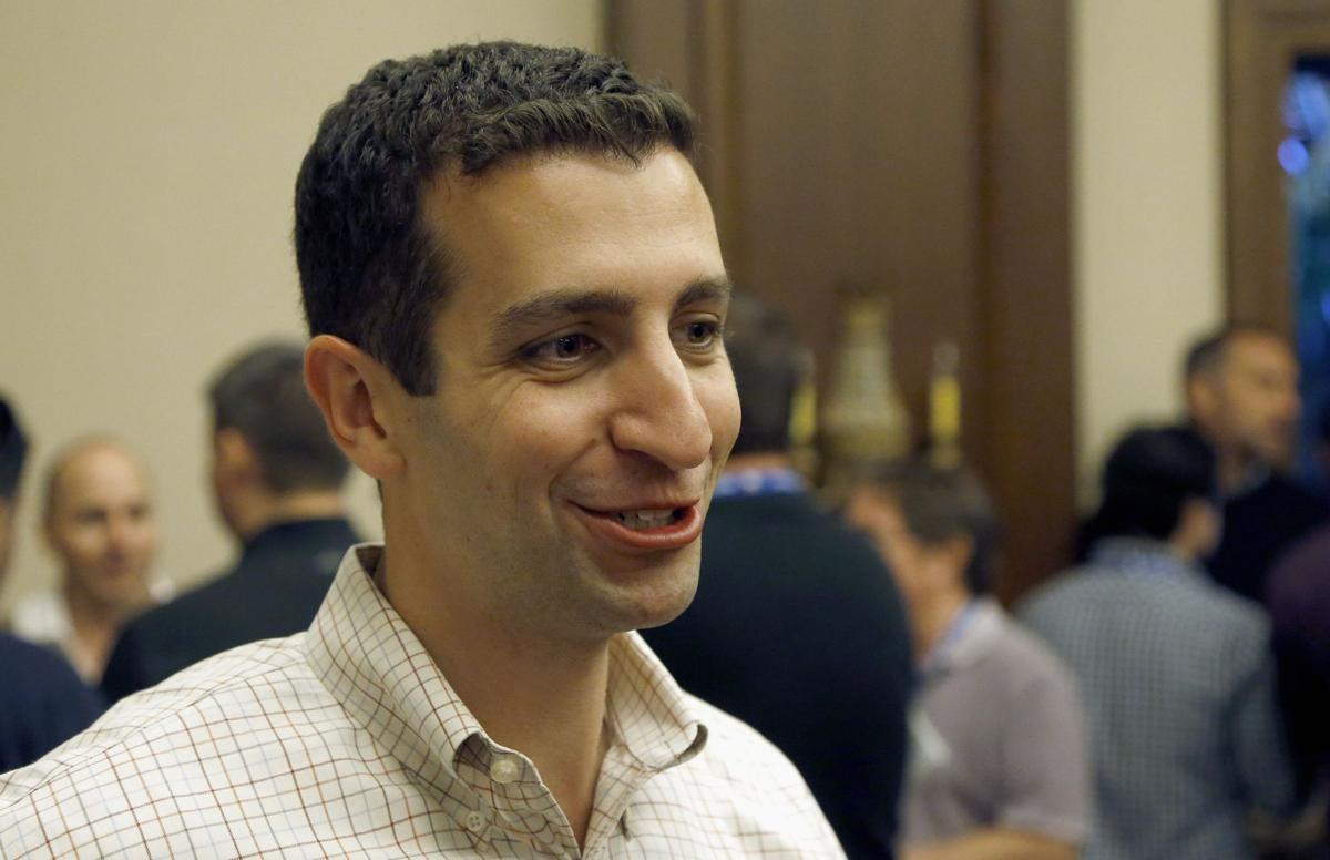 David Stearns smiling, ?? photo