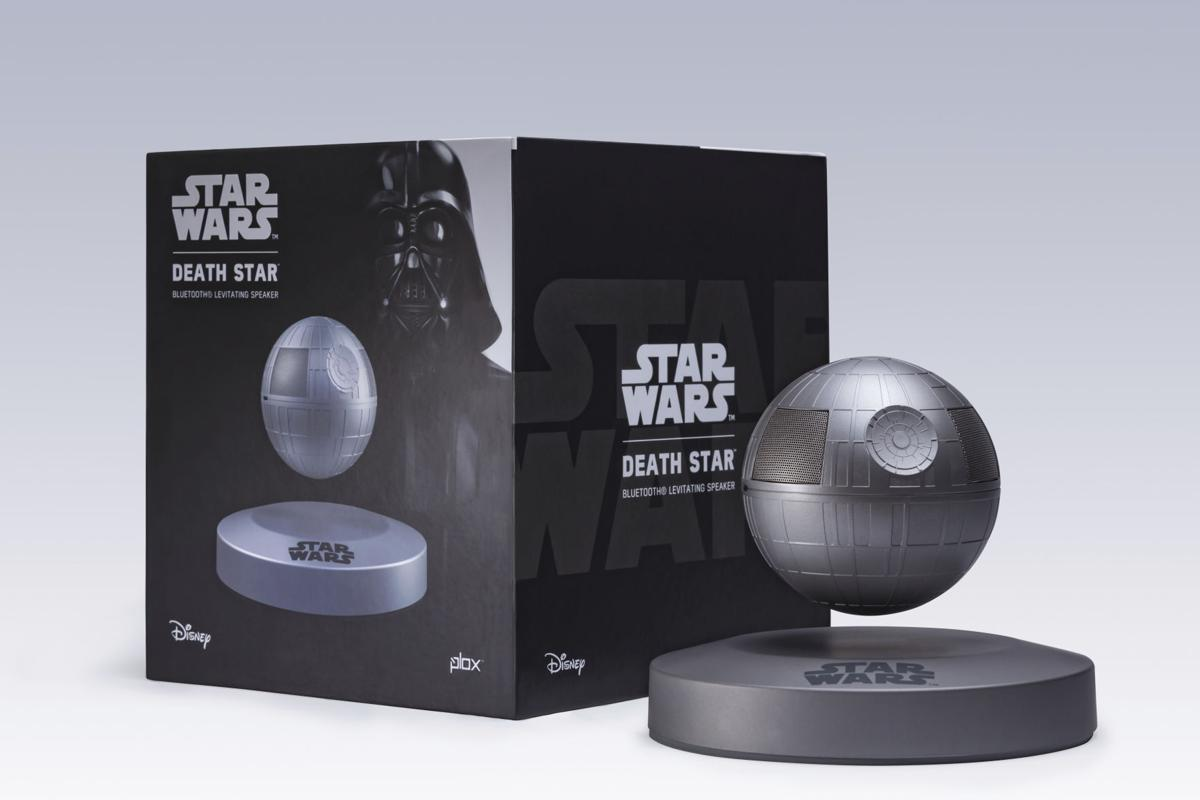 Death Star levitating speaker