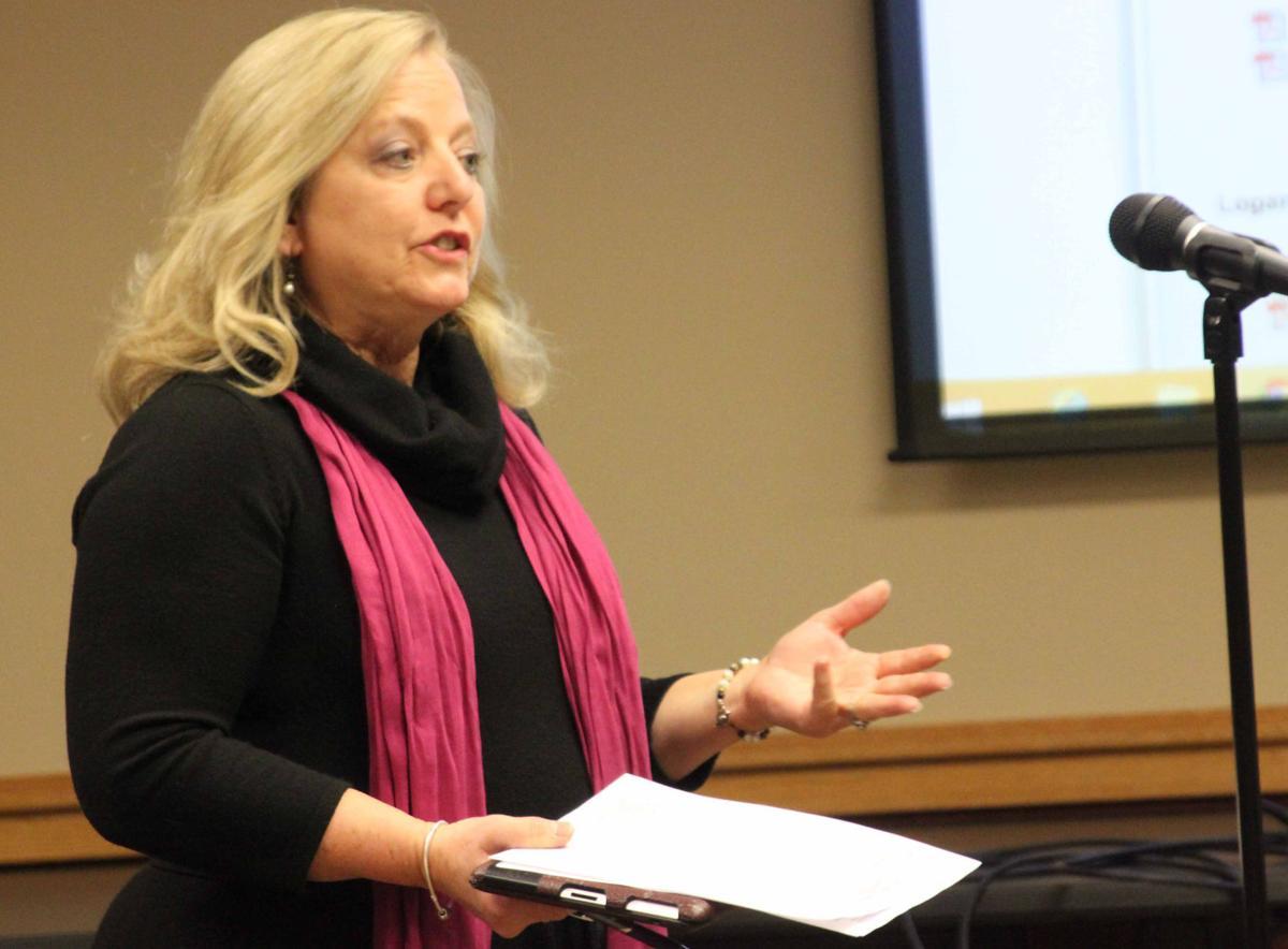 Linda at school board