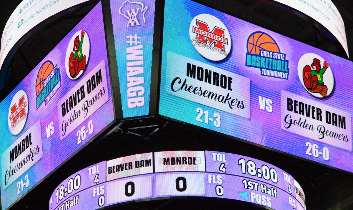 Resch Center Scoreboard
