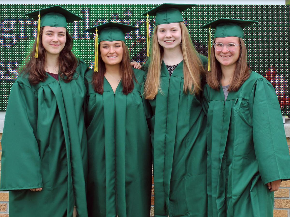 Four students graduate as BDHS valedictorians