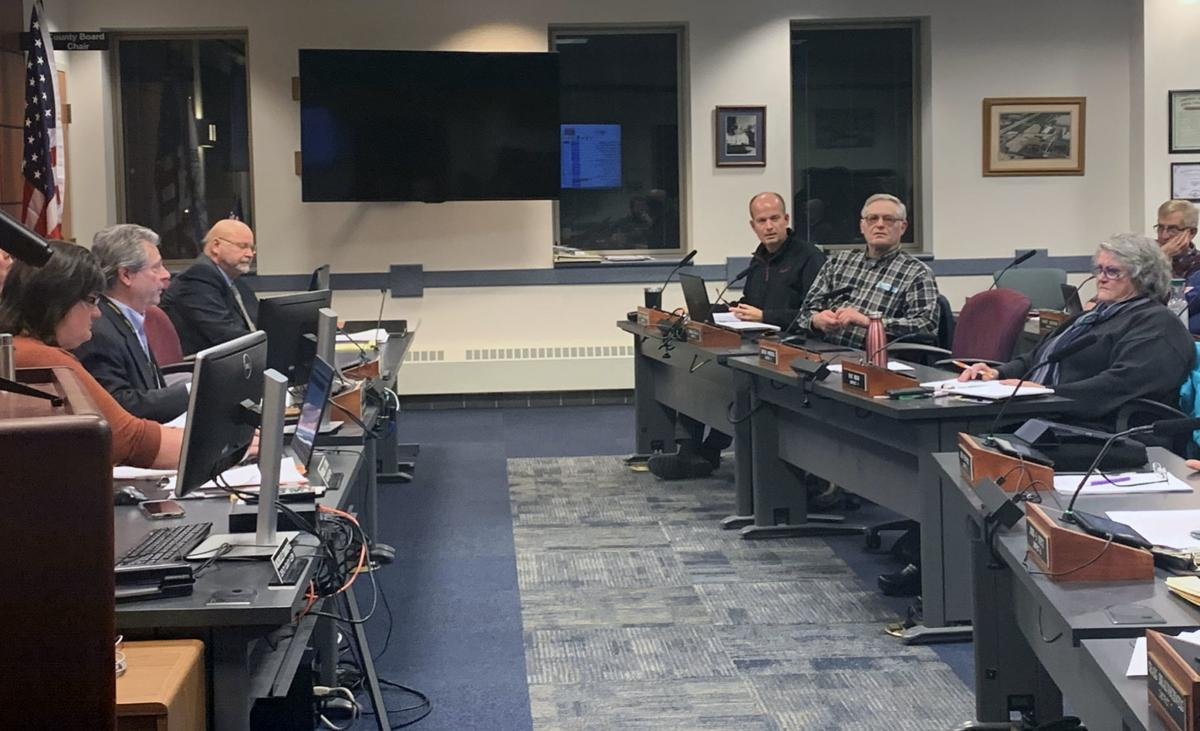 Sauk County Board meeting