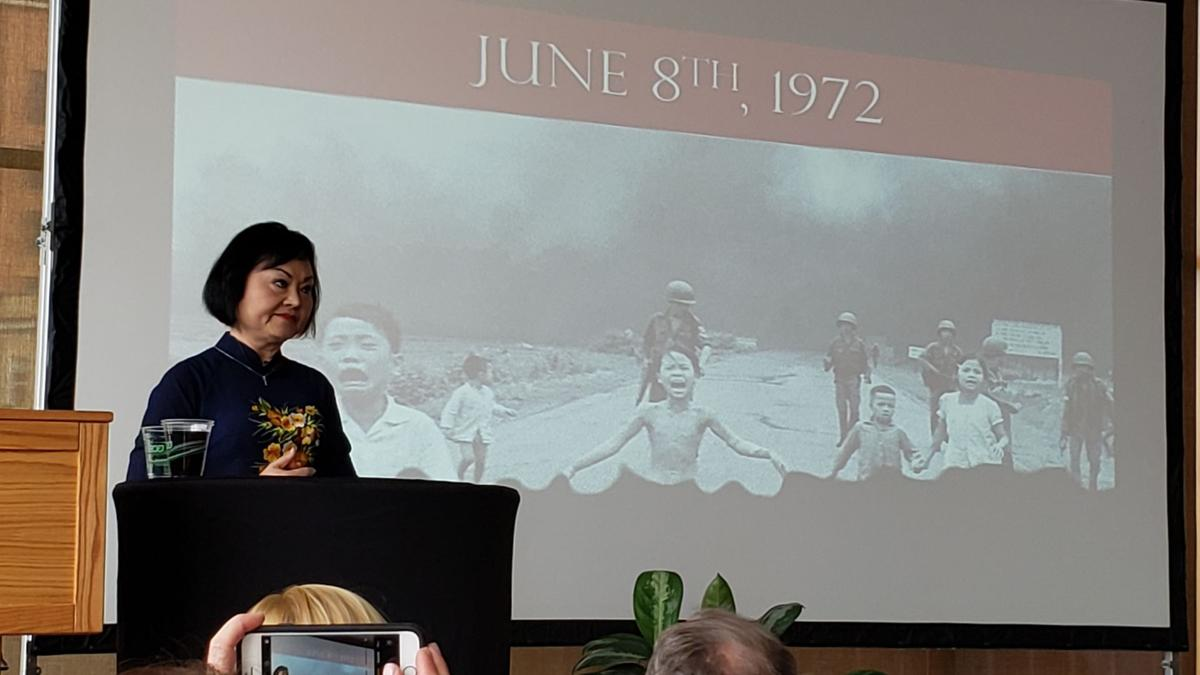 Napalm Girl Of Iconic Vietnam War Picture Shares Story Of Forgiveness State Regional Wiscnews Com