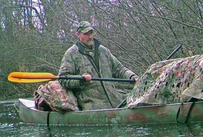 Mark Walters canoe