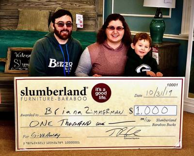 Zimmermans win $1,000