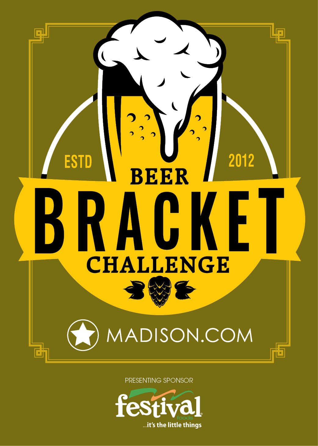 Beer Bracket logo 2018 with logos